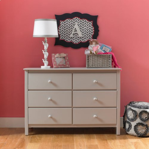 Fisher-Price Double Dresser, Misty Grey