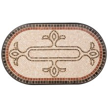 """Orvietto 39"""" Oval Coffee Table Top"""