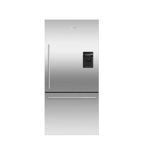 Counter Depth Refrigerator 17 cu ft, Ice & Water