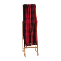 Red & Black Buffalo Plaid Throw Product Image
