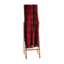 Red & Black Buffalo Plaid Throw