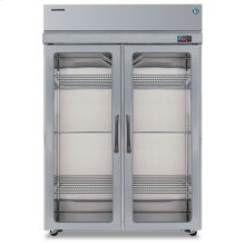 Refrigerator, Two Section Upright, Full Glass Door