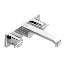 Rem Wall Mount Bathroom Faucet - Polished Chrome