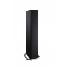 High-Performance Tower Speaker with Integrated 8 inch Powered Subwoofer