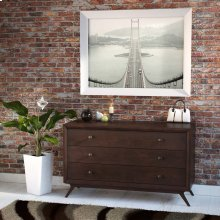 Tracy Wood Dresser in Cappuccino