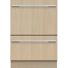 Double DishDrawer , 14 Place Settings, Panel Ready (Tall)