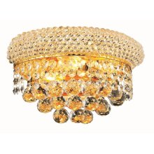 1800 Primo Collection Wall Sconce Gold Finish