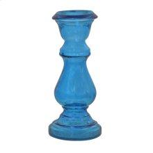 GCH03-BL - Glass Candleholder