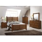 1022 Logan King Bed with Dresser & Mirror Product Image