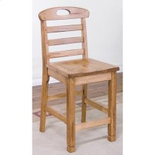Red Hot Buy! Sedona Ladderback Barstool/wooden Seat