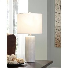 Timber and Tanning Ceramic Table Lamp