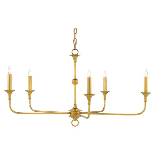 Nottaway Gold Small Chandelier