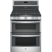 """GE Profile™ 30"""" Free-Standing Gas Double Oven Convection Range Product Image"""