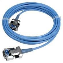DVI-D Active Fiber-Optic Cable - 50 feet
