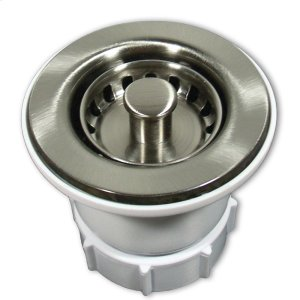 "DR220 2"" Jr. Strainer in Brushed Nickel Drain Product Image"