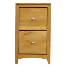 Alder 2 Drawer File Cabinet