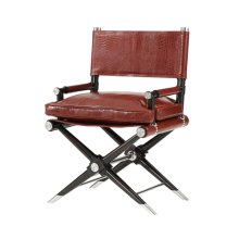 Alligator, the Director's Cut Accent Chair - Red Leather