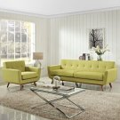 Engage Armchair and Sofa Set of 2 in Wheatgrass Product Image