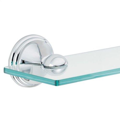 Preston chrome vanity shelf