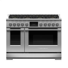 "Dual Fuel Range, 48"", 8 Burners, LPG"
