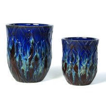 Sparta Tall Planter - Set of 2