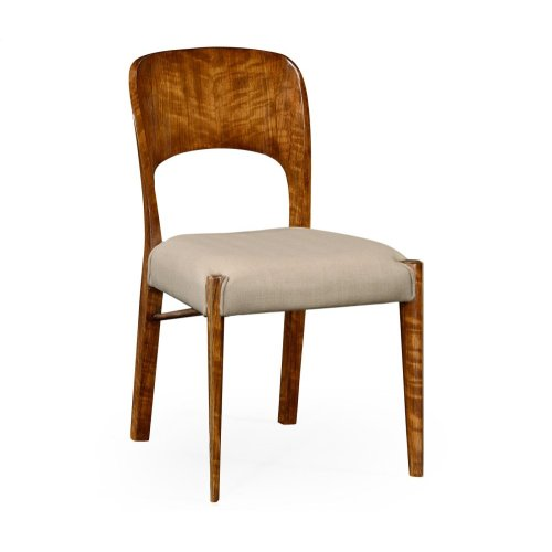 Hyedua Side Chair, Upholstered in MAZO