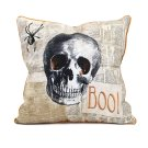 Apothescary Halloween Skull Pillow Product Image