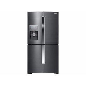 23 cu. ft. Counter Depth 4-Door Flex™ Refrigerator with FlexZone™ in Black Stainless Steel Product Image