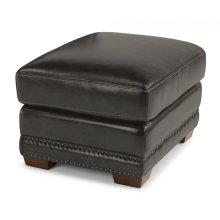 Chandler Leather Ottoman