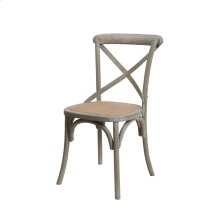 Brody X-back Side Chair-grey