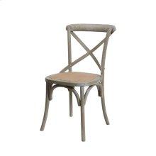 Brody X-back Side Chair-grey