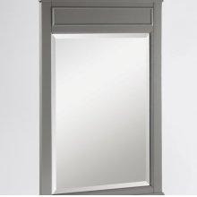 "Smithfield 24"" Mirror - Medium Gray"