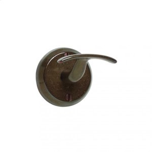 Whale Tail Robe Hook - RH4 Silicon Bronze Brushed Product Image