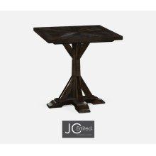 Dark Ale Square Side Table