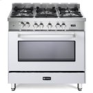 "White 36"" Dual Fuel Single Oven Range - 'N' Series Product Image"