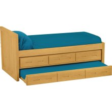 Captain's Bed Set, Twin, extra-long
