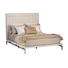 Bentley King Bed  White