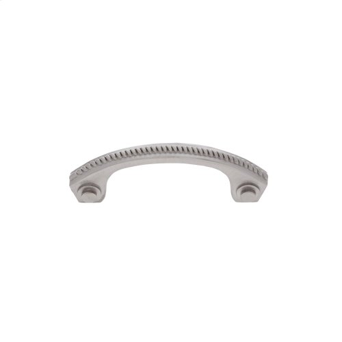 "Satin Nickel 3"" c/c Rope Pull"