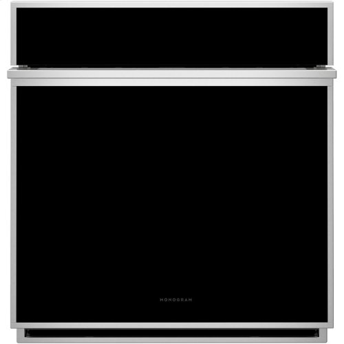 """Monogram 27"""" Smart Electric Convection Single Wall Oven Minimalist Collection"""