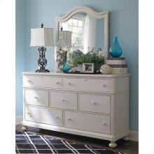 Restoration White Wakefield Dresser