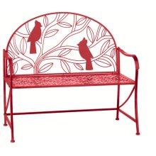 Red Cardinal Bench