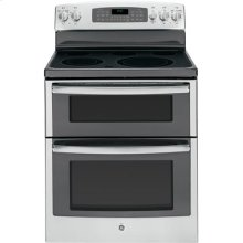 "GE® 30"" Free-Standing Electric Double Oven Range"