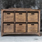 Ardusin Hobby Cupboard, Driftwood Product Image