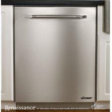 "Renaissance 24"" Dishwasher, in Stainless Steel"