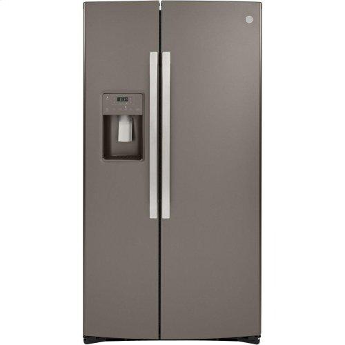 GE® 25.1 Cu. Ft. Side-By-Side Refrigerator