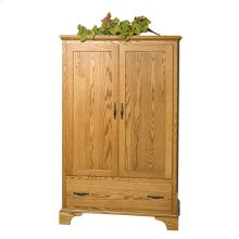 Brook Stone 1 Piece Armoire