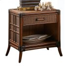 Palm Island One Drawer Nightstand Product Image