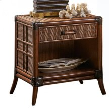 Palm Island One Drawer Nightstand