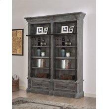 Gramercy Park 2 piece Museum Bookcase Set (9030 and 9031)