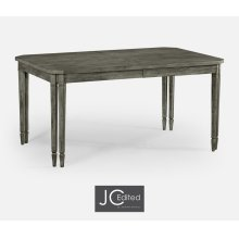 Rectangular Dining Table in Antique Dark Grey